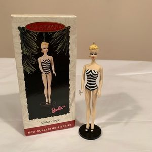 Hallmark Ornament Barbie ~ Debut 1959 Blonde ~ NIB